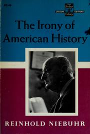 Cover of: The Irony of American History