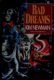 Cover of: Bad dreams | Kim Newman
