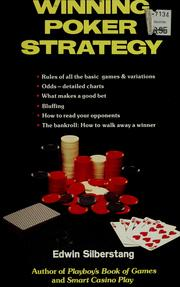 Cover of: Winning poker strategy