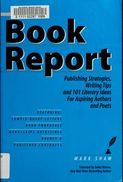 Cover of: Book report
