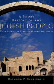 Cover of: A short history of the Jewish people