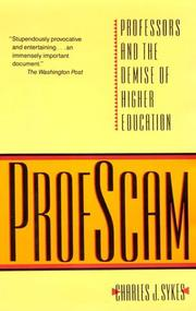 Cover of: Profscam