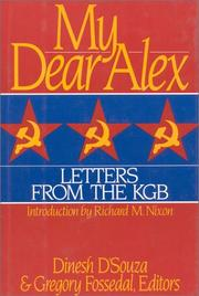 Cover of: My dear Alex: letters from the KGB