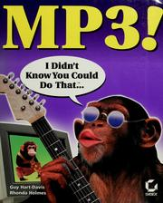 Cover of: MP3!