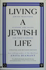 Cover of: Living a Jewish life | Anita Diamant