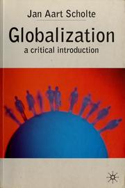 Cover of: Globalization | Jan Aart Scholte