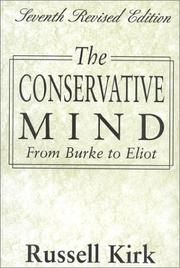 Cover of: The Conservative Mind