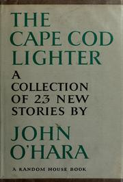 Cover of: The Cape Cod lighter