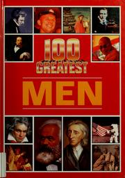 Cover of: 100 greatest men