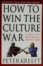Cover of: How to win the culture war