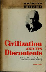 Cover of: Civilization and its discontents | Sigmund Freud