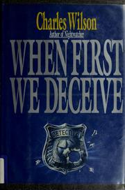 Cover of: When first we deceive