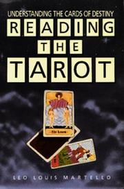 Cover of: Reading the Tarot
