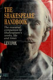 Cover of: The Shakespeare handbook