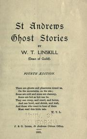 Cover of: St. Andrews ghost stories | W.T. Linskill