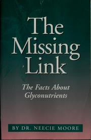 Cover of: The missing link