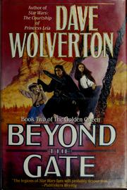 Cover of: Beyond the gate