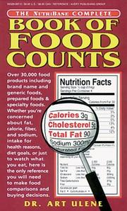 Cover of: The NutriBase Complete Book of Food Counts (NutriBase) | Art Ulene