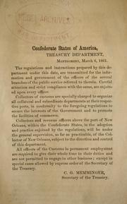 Cover of: Treasury circular[s], no. 1-25