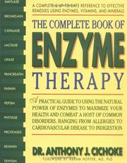 Cover of: The Complete Book of Enzyme Therapy