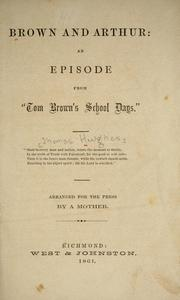 Cover of: Brown and Arthur