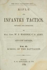 Cover of: Rifle and infantry tactics