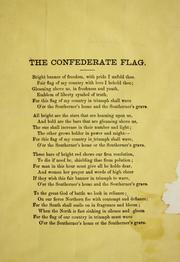 Cover of: The Confederate flag | Susan Blanchard Elder