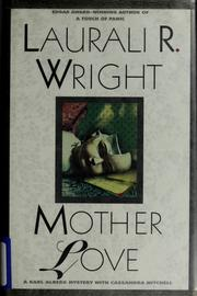 Cover of: Mother love