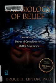 Cover of: The biology of belief
