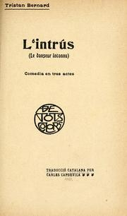 Cover of: L'intrús