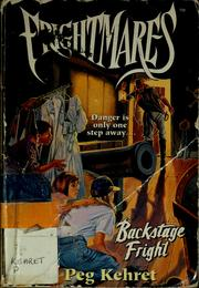 Cover of: Backstage fright