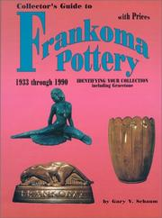 Cover of: Collector's guide to Frankoma pottery, 1933 through 1990