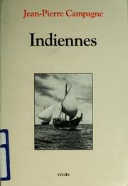 Cover of: Indiennes