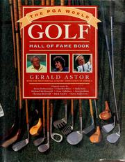 Cover of: The PGA World Golf Hall of Fame book