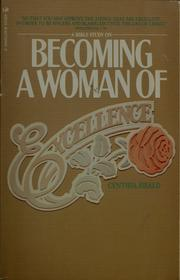 Cover of: Becoming a woman of excellence | Cynthia Heald