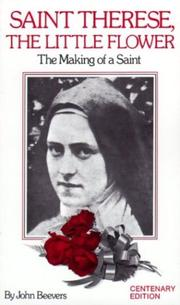Cover of: St. Therese, The Little Flower