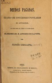 Cover of: Deudas pagadas