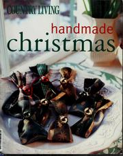 Cover of: Country living handmade Christmas
