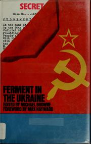 Cover of: Ferment in the Ukraine
