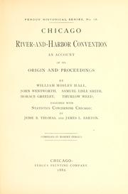 Cover of: Chicago River-and-Harbor convention