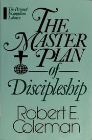 Cover of: The master plan of discipleship
