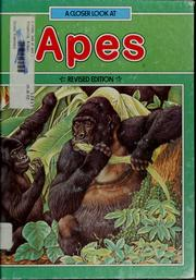 Cover of: A closer look at apes | Michael Fitzpatrick