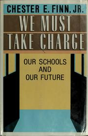 Cover of: We must take charge