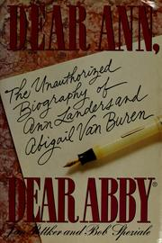 Cover of: Dear Ann, Dear Abby