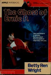 Cover of: The ghost of Ernie P.