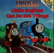 Cover of: Thomas and the magic railroad