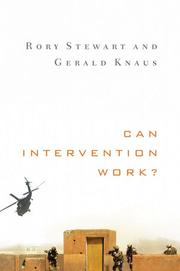 Cover of: Can intervention work? | Rory Stewart