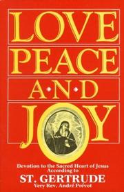 Cover of: Love, peace, and joy