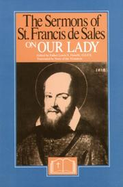 Cover of: The sermons of St. Francis de Sales on Our Lady