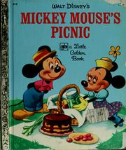 Cover of: Walt Disney's Mickey Mouse's picnic